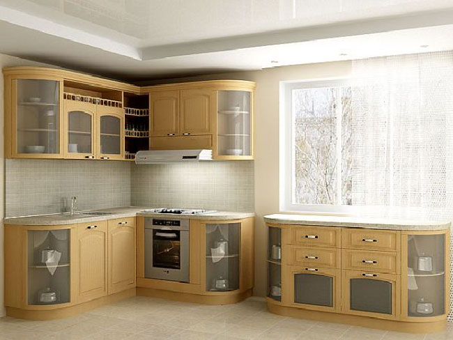 Kitchen Set Minimalis Natural Kch 003 Aura Mebel Furniture
