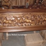 Furniture Patung Kayu Kuda