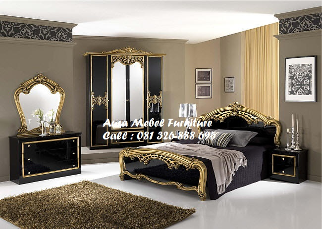 Kamar Set Black Gold