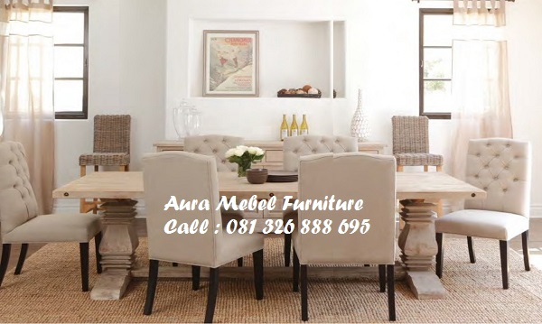 Set Kursi Makan Solid Wood